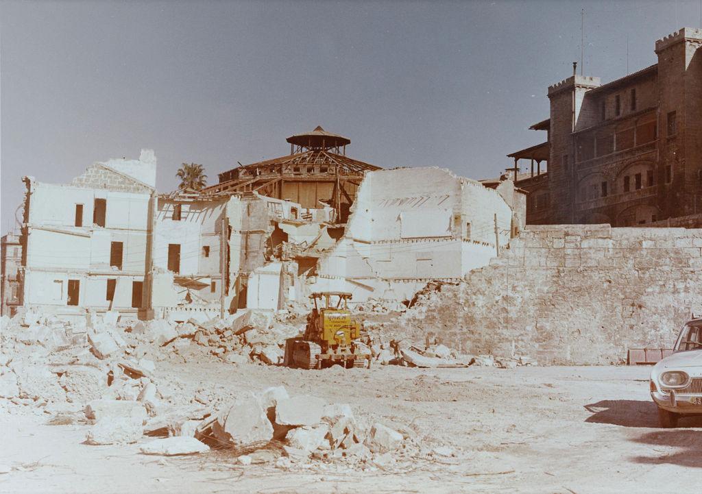 Demolición Teatro Lírico