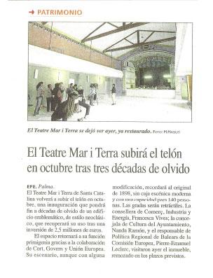 Diario de Mallorca Mar i terra
